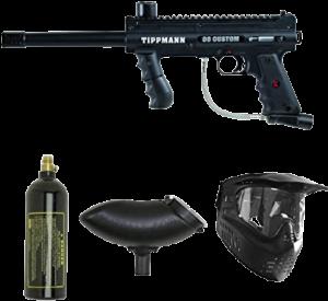 How a Paintball Gun Works